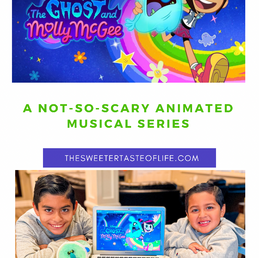 The Ghost and Molly McGee a Not-So-Scary Disney Animated Musical Series