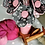 Thumbnail: Think Pink Fabric Flower Bouquet