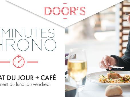 VOTRE MENU 30 MINUTES CHRONO CHEZ DOOR'S