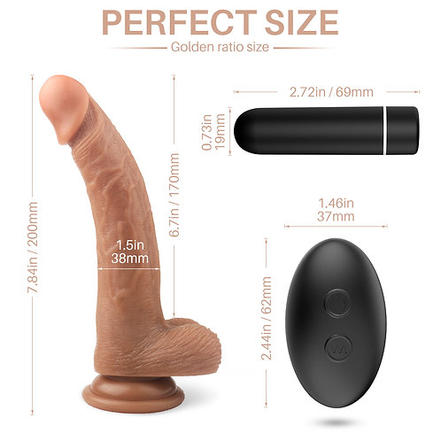 CNT-DD-101 Connection Cream Dildos