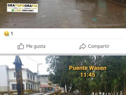 Humanitarian disaster in Guatemala: mudslides, human life lost, homes and belongings lost