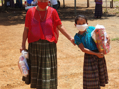 Thank you! During COVID 19, your relief helped keep malnourishment down during Guatemala's lockdown!