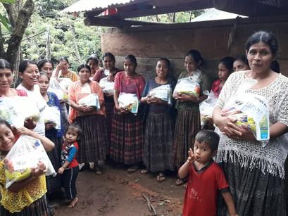 Humanitarian Food Aid to Nuevo Amanecer