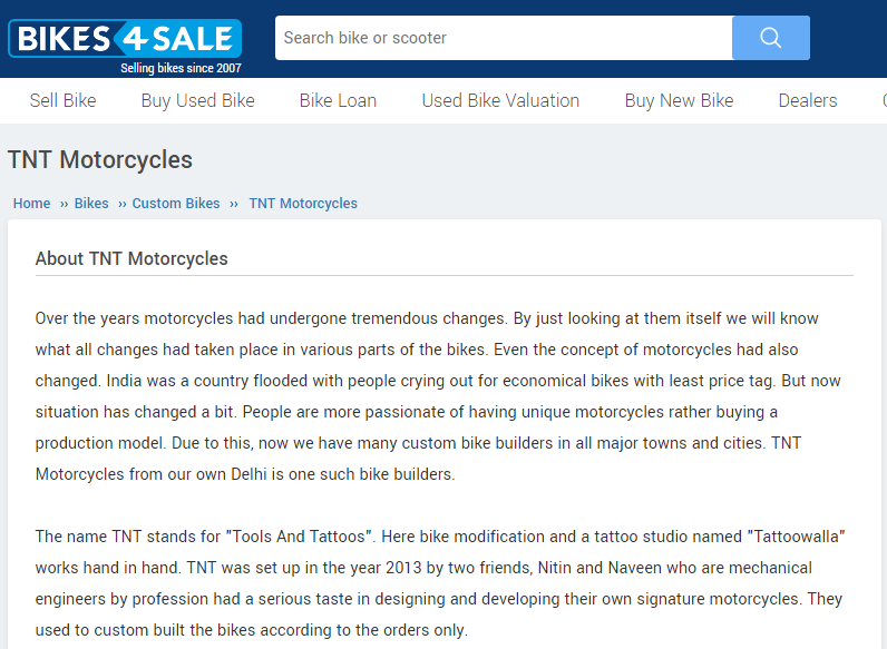 Bike4Sale