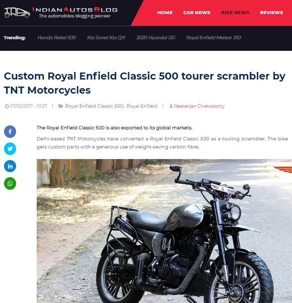 India Auto Blog