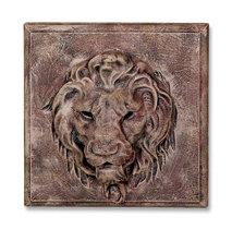 86008B Lion Plaque