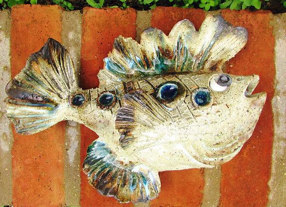 ceramic wall fish