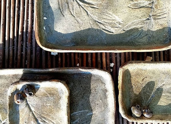 Rectangle serving platter
