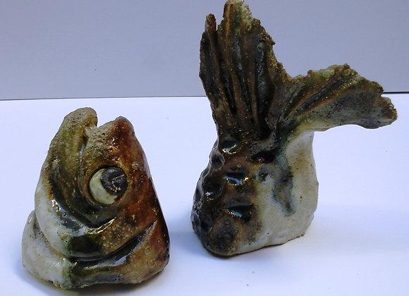 Ceramic Sardine heads