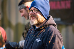 Jerry during company paintball event