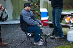 Francisco during paintball