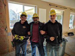 Crew - nice hardhats!