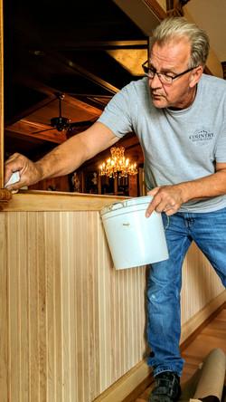 Dennis staining millwork
