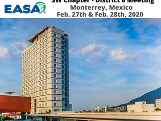 Ralph Hernandez named EASA's District 8 Director of SW Chapter - Holds 1st Meeting in Monterrey, MX