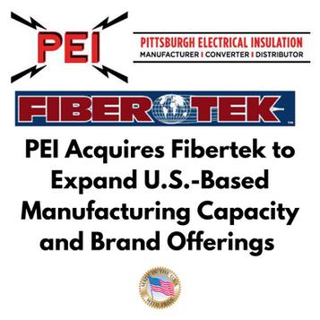 PEI Acquires Fibertek to Expand U.S.-Based Manufacturing Capacity & Industry-Best Brand Offerings