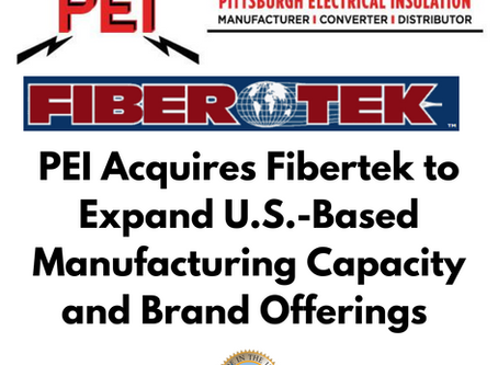 PEI Acquires Fibertek to Expand U.S.-Based Manufacturing Capacity & Industry-Best Brand Offerings
