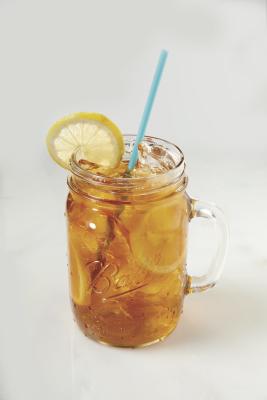 A straw.