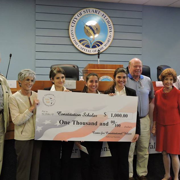 CCV Board with 201n6 Scholarship Winners