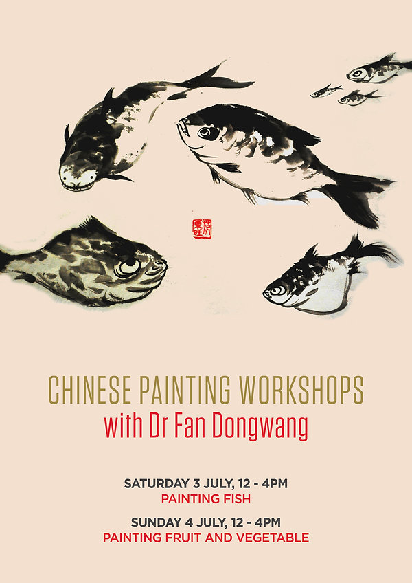 Chinese Painting Workshops with Dr Fan D
