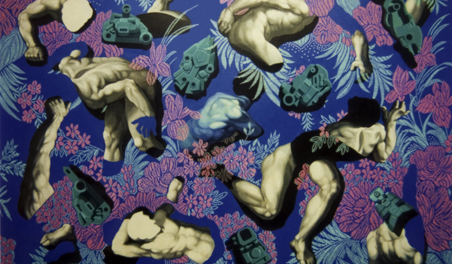 Fan Dongwang-Descendant Bodies #1 Acrylic on Canvas 178x254 cm
