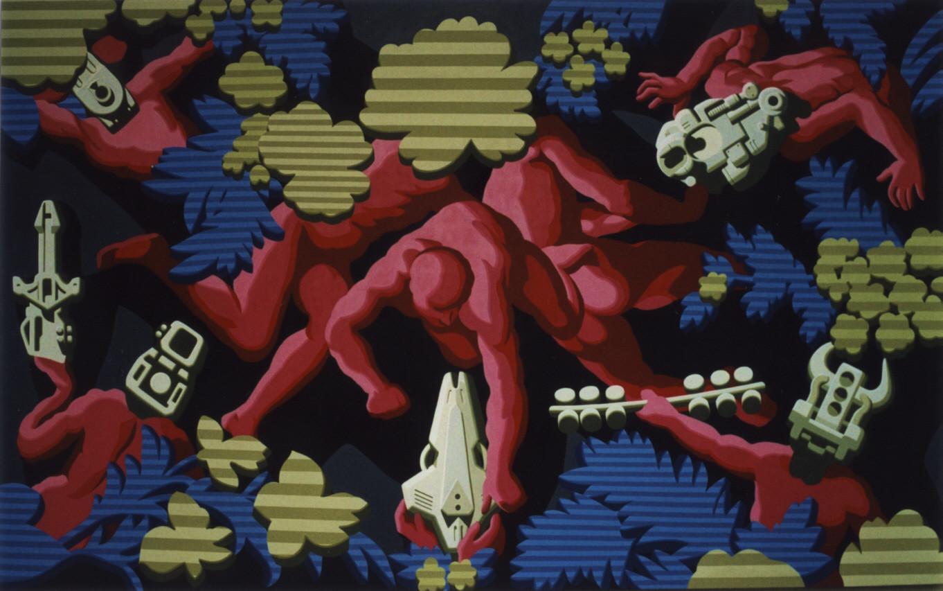 Fan Dongwang-Descendant Bodies #3, 170x280 cm