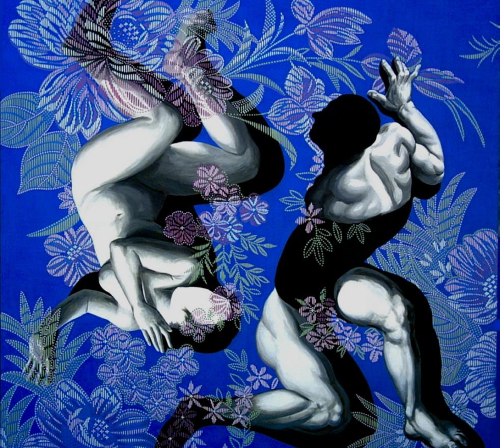 Fan Dongwang-Descendant Bodies #5, 180x180 cm