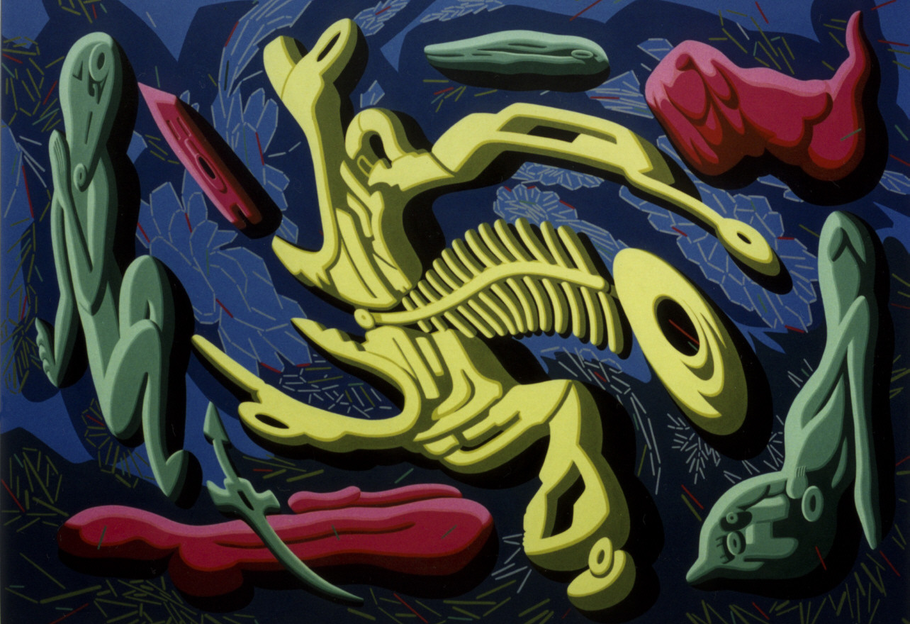Fan Dongwang-Descendant Bodies#4, 180x254 cm