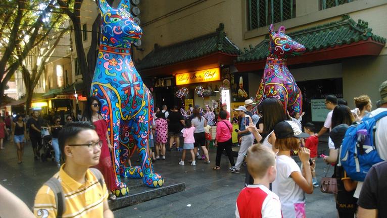 Fan Dongwang 2018 Dog Lantern In Sydney.jpg