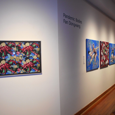 Pandemic Body solo exhibition at Macquarie University Art Gallery 2021