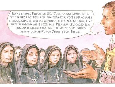 Conhecendo um pouco sobre a vida e os ensinamentos do Padre Luís Caburlotto - 18 de 30