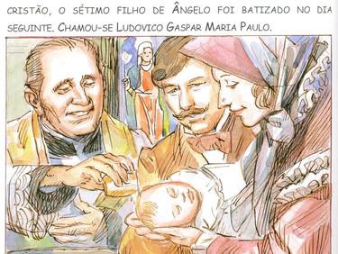 Conhecendo um pouco sobre a vida e os ensinamentos do Padre Luís Caburlotto - 03 de 30