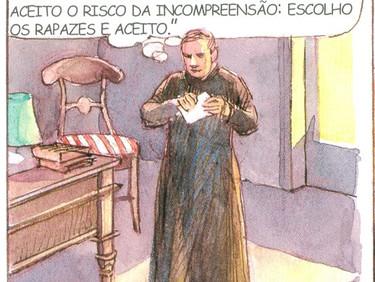 Conhecendo um pouco sobre a vida e os ensinamentos do Padre Luís Caburlotto - 21 de 30