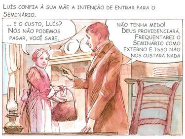 Conhecendo um pouco sobre a vida e os ensinamentos do Padre Luís Caburlotto - 09 de 30
