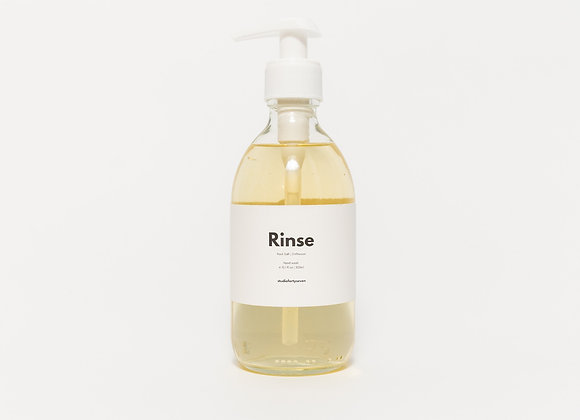 Rinse Hand Soap | Rock Salt & Driftwood