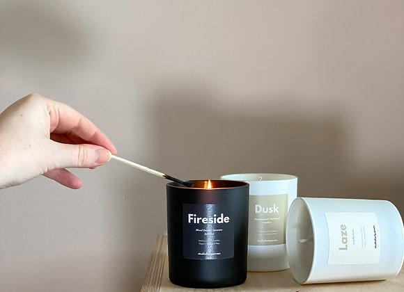 Fireside | Wood Smoke, Incense & Jasmine