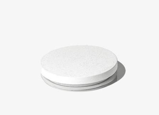 White Large Lid