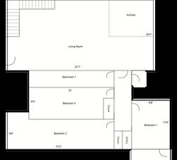 6616 Sabado Tarde - 1st Floor - Layout