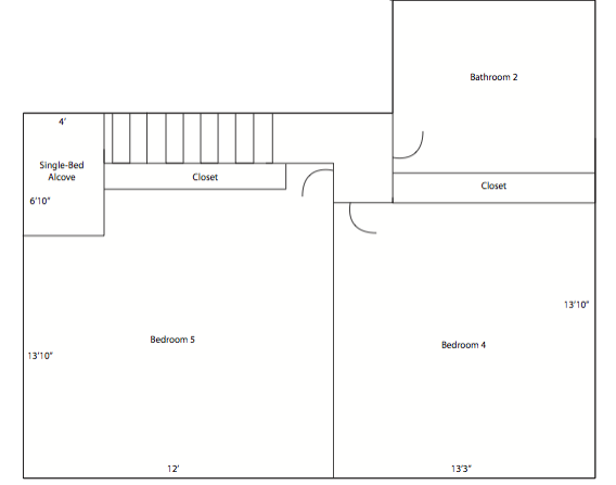6616 Sabado Tarde - 2nd Floor - Layout