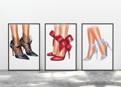 Woman Shoes clipart