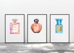 6 Perfumes Clip Art