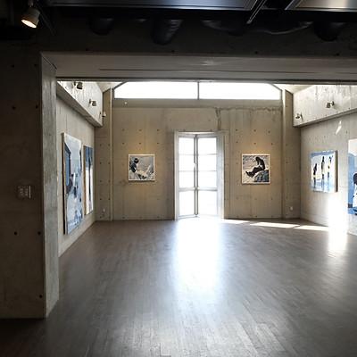 川に沿って 中川裕孝展 ALONG THE RIVER Gallery Maronie SPACE5