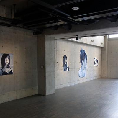 中川裕孝展     「瞬きmabataki」  Gallery Maronie