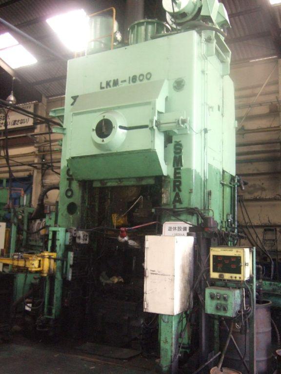 Hot forging press