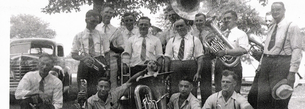 6 Church Band around 1936.JPG