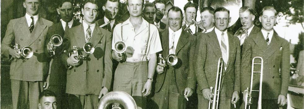 8 Church Band 1941.JPG