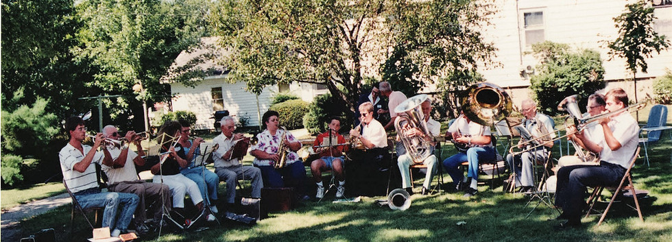 12 Band at 100 year Anniversary 1991.JPG
