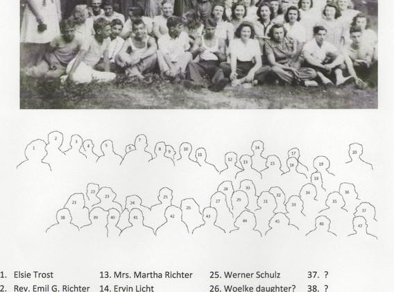 PASTOR EMIL RICHTER 1940'S Old School Pi