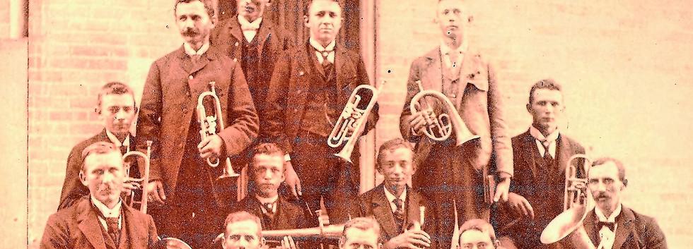 1 Church Band 1905 New Church Dedication