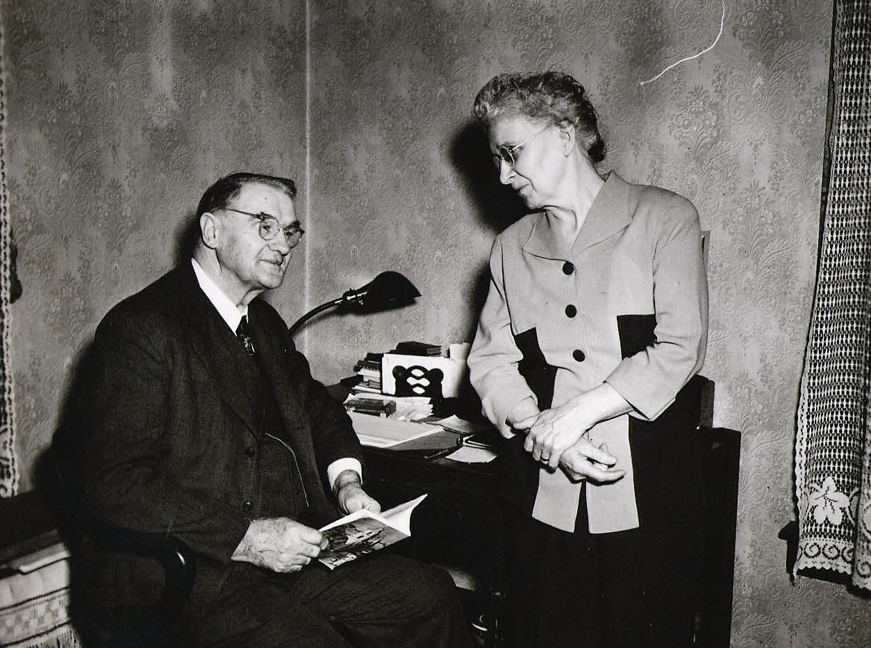 11 Pastor Richter And Wife 1949.JPG