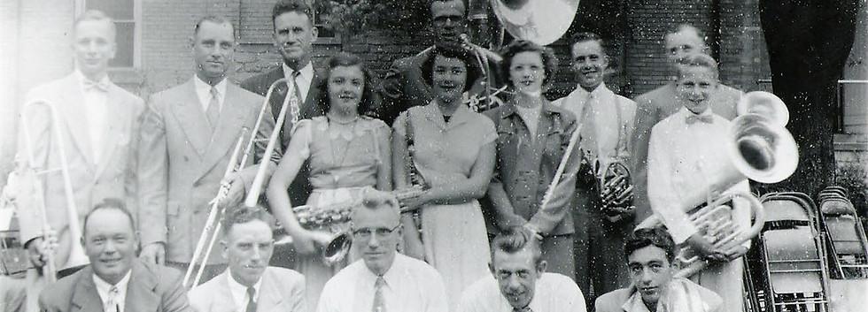 9 Church band 1955.JPG